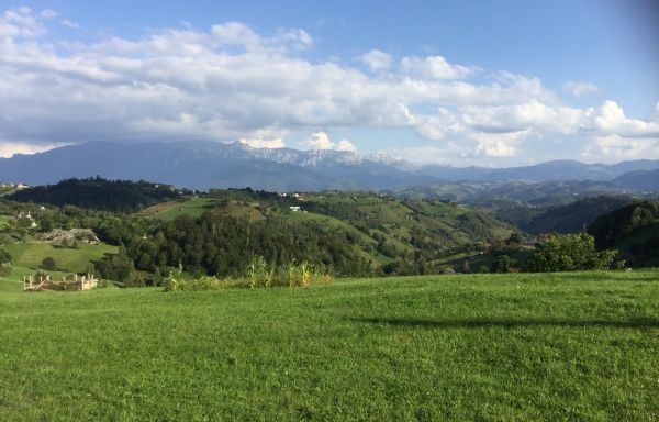 カルパチア山脈遠景